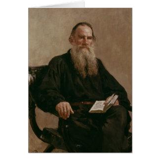 Cartão Lev Tolstoy 1887