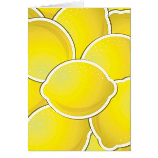 Cartão Limão Funky