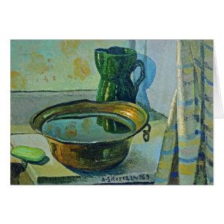 Cartão Limpe as mãos - Antonio Sicurezza