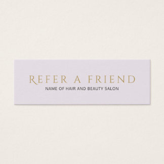 Cartão limpo elegante simples da referência do