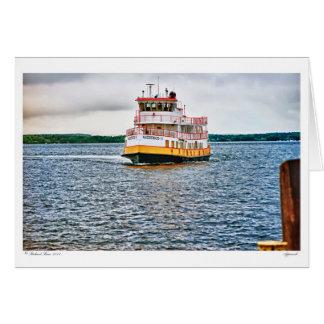 Cartão Linhas de baía Balsa-AUCOCISCO de Casco l l l