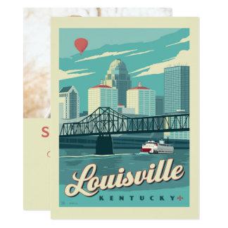 Cartão Louisville, economias de Kenucky | a data - foto