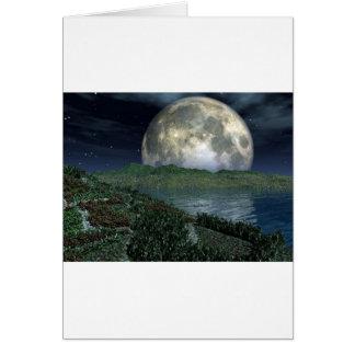 Cartão Lua cheia