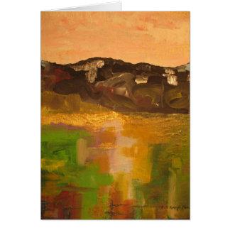 Cartão Luz da montanha