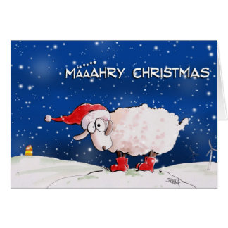 Cartão Määähry Christmas