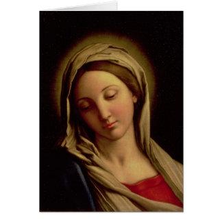 Cartão Madonna