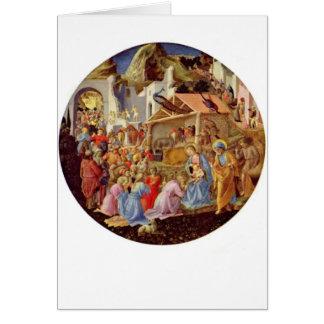 Cartão Madonna e criança - Fra Angelico - 1564