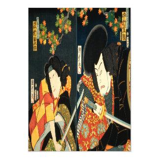 Cartão Magnético Dois atores japoneses (impressão do japonês do