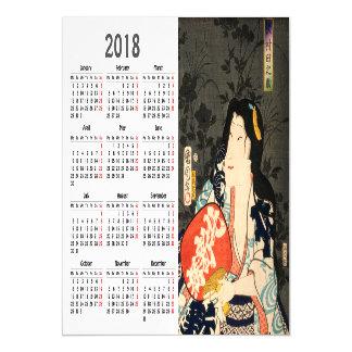 cartão magnético japonês do ator de 2018