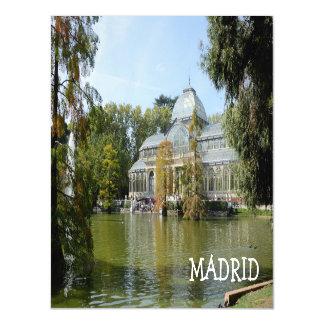 Cartão Magnético Palácio de cristal, Madrid
