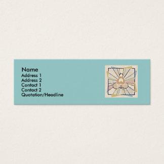 Cartão magro abstrato de Buddah