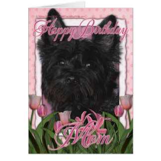 Cartão Mamã do feliz aniversario - monte de pedras -