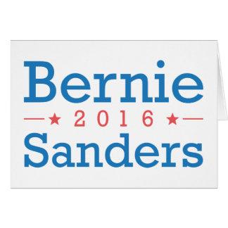Cartão Máquinas de lixar 2016 de Bernie