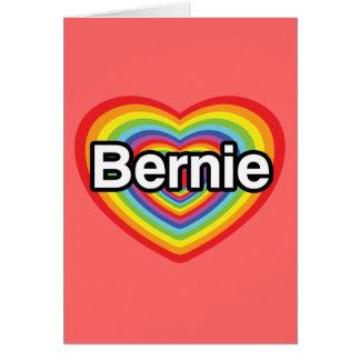 Cartão Máquinas de lixar de Bernie