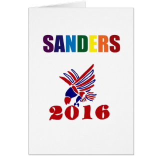 Cartão Máquinas de lixar de Bernie do divertimento para o