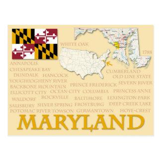 """Cartão """"Maryland """""""