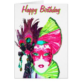 Cartão mascarada