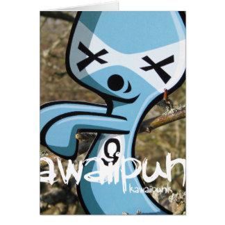 Cartão Mascote do fantasma