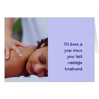 Cartão Massagem & fotos da carroçaria