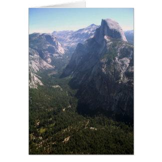 Cartão Meia abóbada, Yosemite