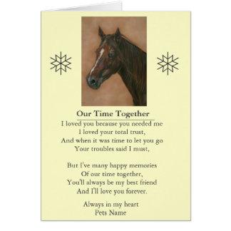 Cartão mensagem customizável original do poema da