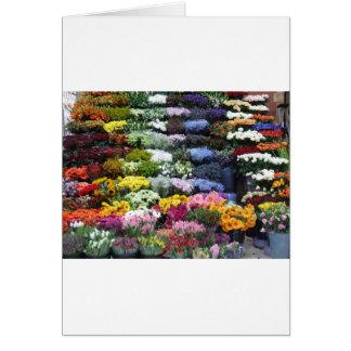 Cartão Mercado das flores