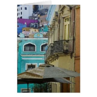 Cartão México, Guanajuato. Variedade densa embalada de