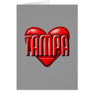 Cartão Mim coração Tampa