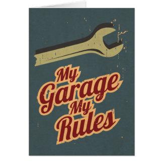 Cartão Minha garagem minhas regras