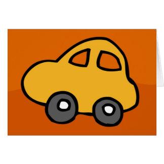 Cartão Mini mini carro