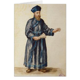 Cartão Missionário Venetian em China