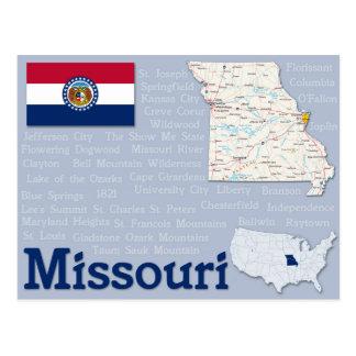 """Cartão """"Missouri """""""