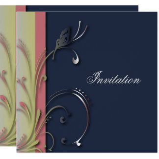Cartão Modelo original do partido da borboleta dos azuis