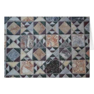 Cartão Mosaico Venetian