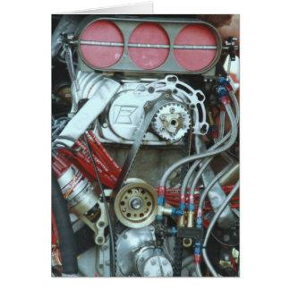 Cartão Motor do carro do nacional de Cajun