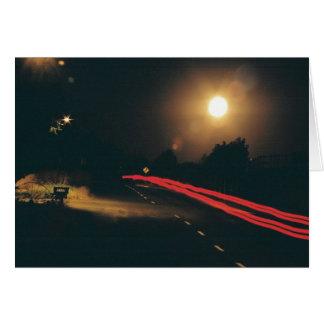 Cartão Na noite