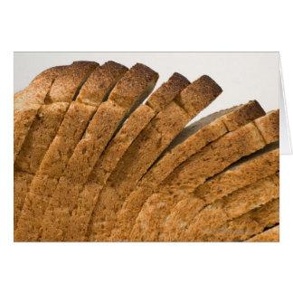 Cartão Naco de pão cortado