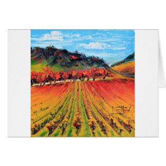 Cartão Napa Valley por Lisa Elley