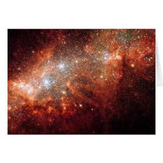 Cartão NASA - Pechincha do Supernova na galáxia próxima