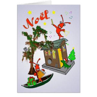 Cartão Natal da albufeira de Cajun