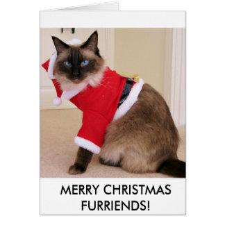 Cartão Natal Oscar