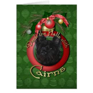 Cartão Natal - plataforma os salões - montes de pedras -