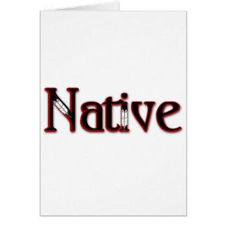 Cartão Nativo