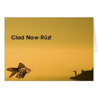 Cartão Naw-Rúz contente!