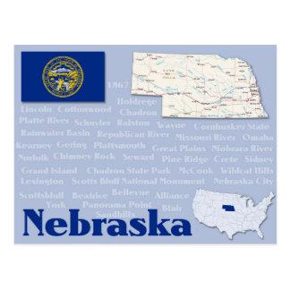 "Cartão ""Nebraska """