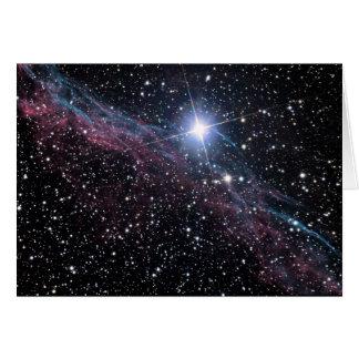 Cartão Nebulosa do véu da NASA ESA