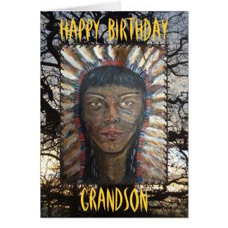 Cartão Neto do feliz aniversario