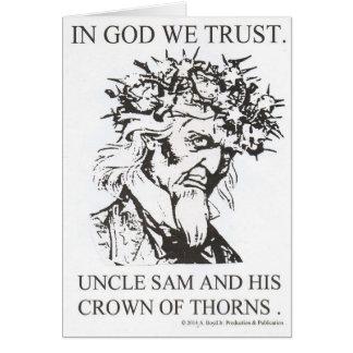 Cartão No tio Sam nós