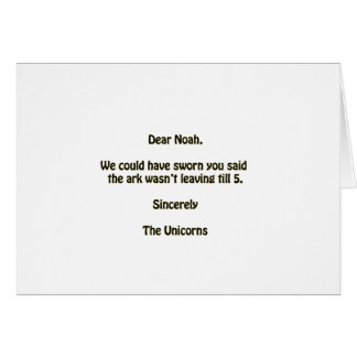 Cartão Noah