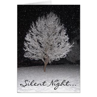 Cartão Noite silenciosa…